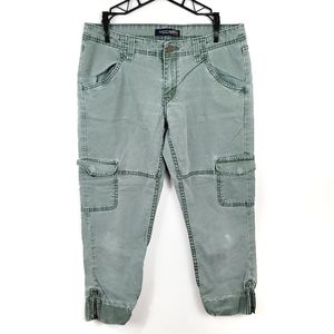 Levi's {Genuinely Crafted}   Green Cargo Joggers